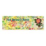 #14 color de rosa plantillas de tarjeta de negocio