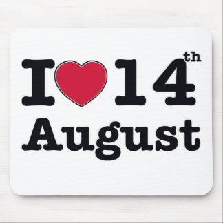 14 de julio diseño del cumpleaños tapetes de ratones
