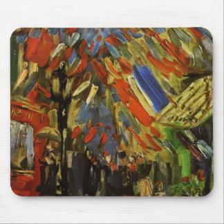 14 de julio en París de Vincent van Gogh Tapete De Raton