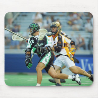14 de junio de 2001:  A.J. Haugen #12 Long Island Alfombrillas De Ratones