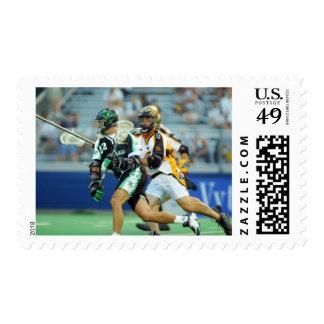 14 de junio de 2001:  A.J. Haugen #12 Long Island Sellos Postales