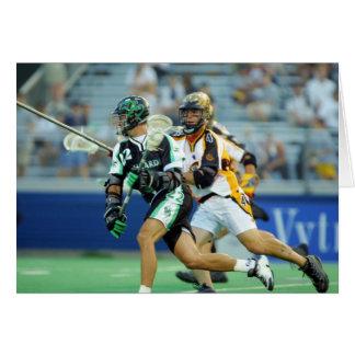 14 de junio de 2001:  A.J. Haugen #12 Long Island Tarjetón