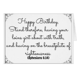 14 de junio tarjeta de cumpleaños de la biblia con