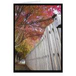 ~ 14 del otoño tarjeta de felicitación