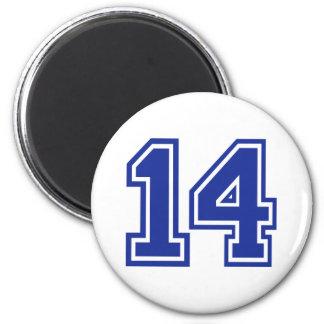 14 - Fourteen 2 Inch Round Magnet