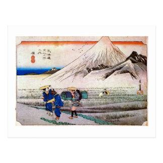 14. Harajuku, Hiroshige Postcard