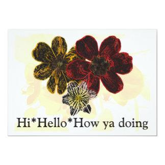 14 Hi Hello How Ya Doing Card