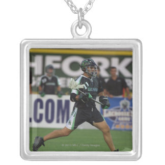 14 Jul 2001:  John Gagliardi #11  Long Silver Plated Necklace