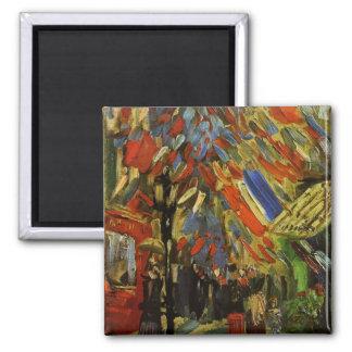 14 July in Paris by Vincent van Gogh Refrigerator Magnet