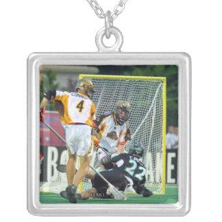 14 Jun 2001:  Casey Powell #22  Long Square Pendant Necklace