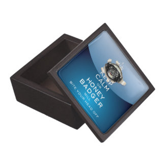 [14] Keep Calm or Honey Badger… Jewelry Box