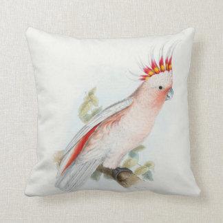 #14-Leadbeater's cockatoo Throw Pillow