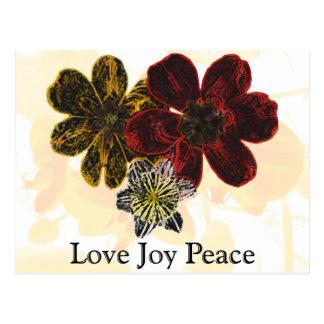 14 Love Joy Peace Postcard