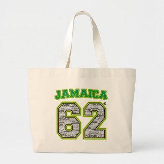 14 parishes 1962 large tote bag