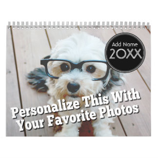 14 Photo Full Coverage - Personalized Calendar