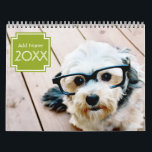 """14 Photo Full Coverage - Personalized Calendar<br><div class=""""desc"""">Add your favorite photos to make a modern photography calendar. Each month includes room for a full photo. There is also a space on the front and the back to customize with more pictures.</div>"""
