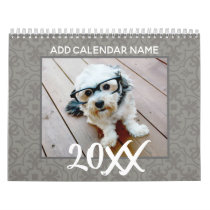 14 Photo - Full Page Photos - Front Pattern Calendar