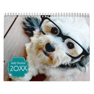 14 Photo Slots - Personalized Calendar