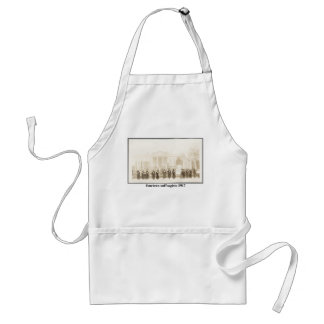 14 Suffragists, 1917 Adult Apron