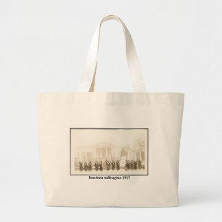 14 Suffragists, 1917 Large Tote Bag