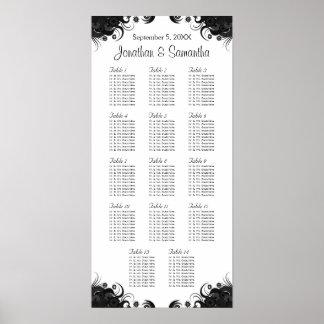 14 tablas que se casan blancos y negros que póster