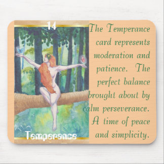 #14 Temperance Mouse Pad