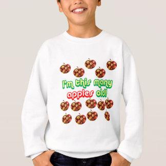 14 This Many Apples Old Sweatshirt