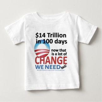 $14 Trillion in 100 Days Baby T-Shirt