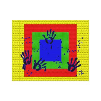 """14"""" x 11"""", 1,5"""", escoge la lona del estiramiento impresiones en lienzo estiradas"""