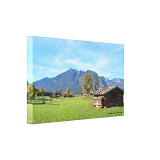 "14"" x 11"", 1.5"", Single - Garmisch, Germany Canvas Print"