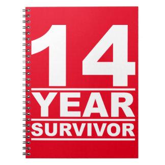 14 year survivor notebook