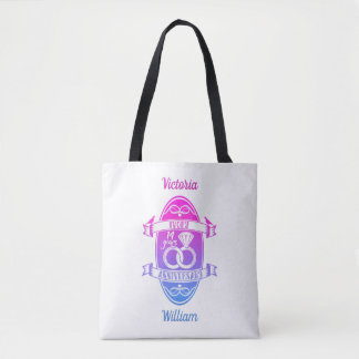 14 Year traditional ivory 14th wedding anniversary Tote Bag