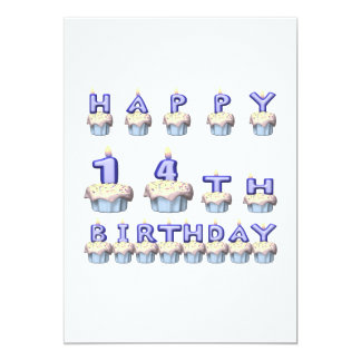 14 Years Old Card