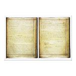 14ta constitución de los E.E.U.U. de la enmienda d Lona Envuelta Para Galerias