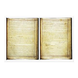 14ta constitución de los E.E.U.U. de la enmienda d Lona Estirada Galerías