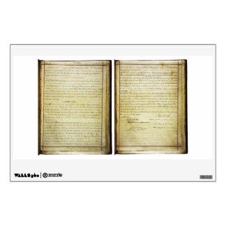 14ta constitución de los E.E.U.U. de la enmienda d Vinilo Adhesivo