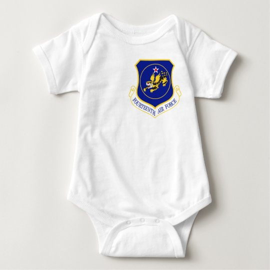 14th Air Force Patch Baby Bodysuit