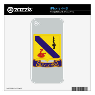 14th Armored Cavalry Regiment iPhone 4S Decals