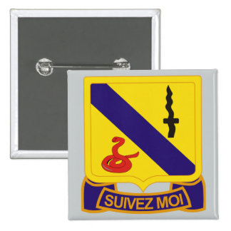14th Armored Cavalry Regiment Pinback Button