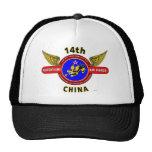 "14TH ARMY AIR FORCE ""ARMY AIR CORPS"" WW II TRUCKER HAT"