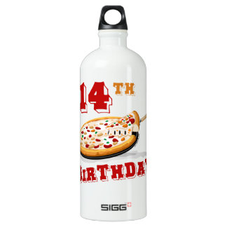 14th Birthday Pizza Party SIGG Traveler 1.0L Water Bottle