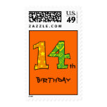 14th Birthday Postage