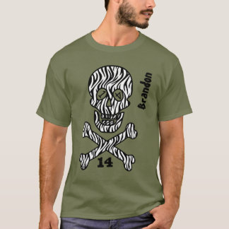 14th Birthday Skull and Crossbones 14 Years V02P T-Shirt