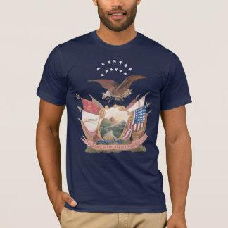 14th Brooklyn N.Y.S.M. Flag T-Shirt