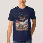 14th Brooklyn N.Y.S.M. Flag Tee Shirt