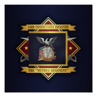 14th Connecticut Volunteer Infantry Poster
