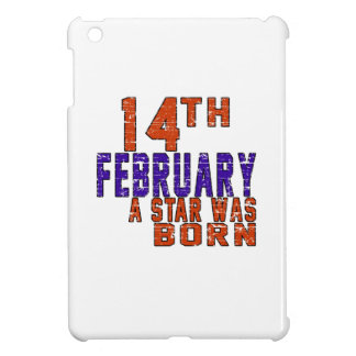 14th February a star was born iPad Mini Case