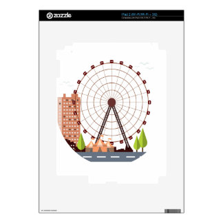14th February - Ferris Wheel Day Decals For The iPad 2