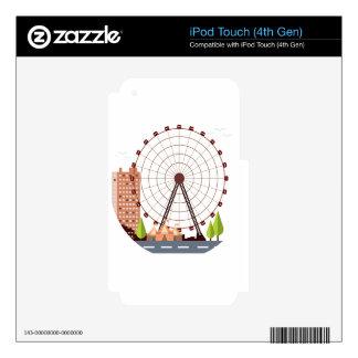14th February - Ferris Wheel Day iPod Touch 4G Skin