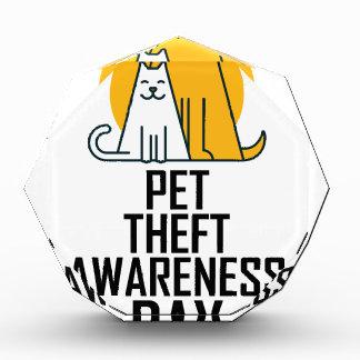 14th February - Pet Theft Awareness Day Award